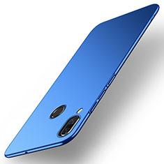 Handyhülle Hülle Kunststoff Schutzhülle Tasche Matt M01 für Huawei Nova 3 Blau