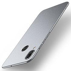 Handyhülle Hülle Kunststoff Schutzhülle Tasche Matt M01 für Huawei Nova 3 Grau