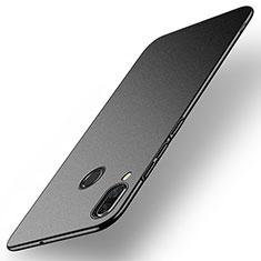 Handyhülle Hülle Kunststoff Schutzhülle Tasche Matt M01 für Huawei Nova 3 Schwarz