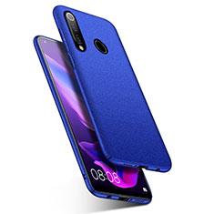 Handyhülle Hülle Kunststoff Schutzhülle Tasche Matt M01 für Huawei Nova 4e Blau
