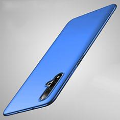 Handyhülle Hülle Kunststoff Schutzhülle Tasche Matt M01 für Huawei Nova 5 Blau