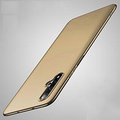 Handyhülle Hülle Kunststoff Schutzhülle Tasche Matt M01 für Huawei Nova 5 Gold