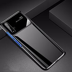 Handyhülle Hülle Kunststoff Schutzhülle Tasche Matt M01 für Huawei Nova 5T Schwarz