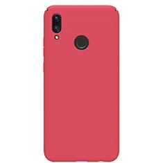 Handyhülle Hülle Kunststoff Schutzhülle Tasche Matt M01 für Huawei Nova Lite 3 Rot