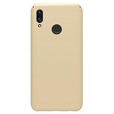 Handyhülle Hülle Kunststoff Schutzhülle Tasche Matt M01 für Huawei P Smart (2019) Gold