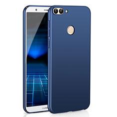 Handyhülle Hülle Kunststoff Schutzhülle Tasche Matt M01 für Huawei P Smart Blau