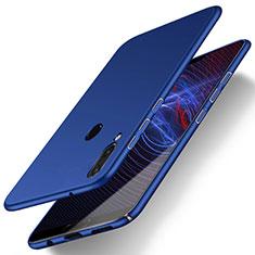 Handyhülle Hülle Kunststoff Schutzhülle Tasche Matt M01 für Huawei P20 Lite Blau