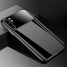 Handyhülle Hülle Kunststoff Schutzhülle Tasche Matt M01 für Huawei P30 Pro Schwarz