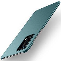 Handyhülle Hülle Kunststoff Schutzhülle Tasche Matt M01 für Huawei P40 Pro+ Plus Grün