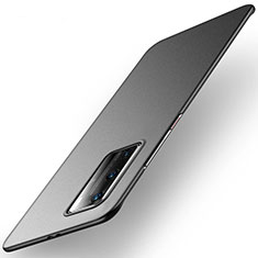 Handyhülle Hülle Kunststoff Schutzhülle Tasche Matt M01 für Huawei P40 Pro Schwarz