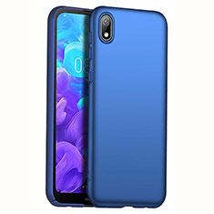 Handyhülle Hülle Kunststoff Schutzhülle Tasche Matt M01 für Huawei Y5 (2019) Blau