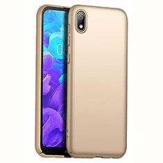 Handyhülle Hülle Kunststoff Schutzhülle Tasche Matt M01 für Huawei Y5 (2019) Gold