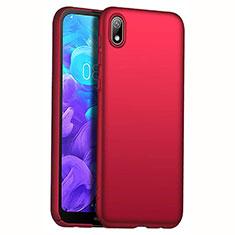 Handyhülle Hülle Kunststoff Schutzhülle Tasche Matt M01 für Huawei Y5 (2019) Rot