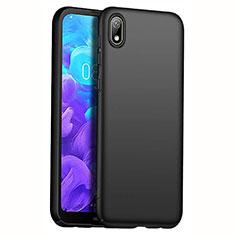 Handyhülle Hülle Kunststoff Schutzhülle Tasche Matt M01 für Huawei Y5 (2019) Schwarz