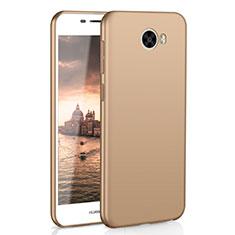 Handyhülle Hülle Kunststoff Schutzhülle Tasche Matt M01 für Huawei Y5 II Y5 2 Gold