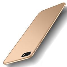 Handyhülle Hülle Kunststoff Schutzhülle Tasche Matt M01 für Huawei Y5 Prime (2018) Gold