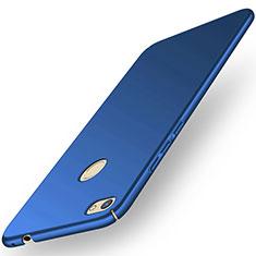 Handyhülle Hülle Kunststoff Schutzhülle Tasche Matt M01 für Huawei Y6 Pro (2017) Blau
