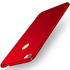 Handyhülle Hülle Kunststoff Schutzhülle Tasche Matt M01 für Huawei Y6 Pro (2017) Rot