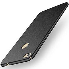 Handyhülle Hülle Kunststoff Schutzhülle Tasche Matt M01 für Huawei Y6 Pro (2017) Schwarz