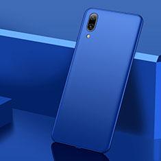 Handyhülle Hülle Kunststoff Schutzhülle Tasche Matt M01 für Huawei Y7 Prime (2019) Blau