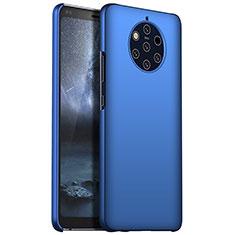 Handyhülle Hülle Kunststoff Schutzhülle Tasche Matt M01 für Nokia 9 PureView Blau