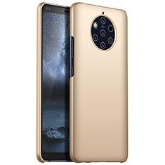 Handyhülle Hülle Kunststoff Schutzhülle Tasche Matt M01 für Nokia 9 PureView Gold