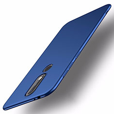 Handyhülle Hülle Kunststoff Schutzhülle Tasche Matt M01 für Nokia X5 Blau
