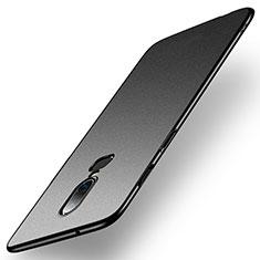 Handyhülle Hülle Kunststoff Schutzhülle Tasche Matt M01 für OnePlus 6 Schwarz
