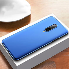 Handyhülle Hülle Kunststoff Schutzhülle Tasche Matt M01 für OnePlus 7T Pro 5G Blau