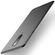 Handyhülle Hülle Kunststoff Schutzhülle Tasche Matt M01 für OnePlus 8 Schwarz