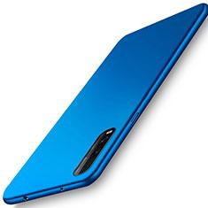 Handyhülle Hülle Kunststoff Schutzhülle Tasche Matt M01 für Oppo Find X2 Blau