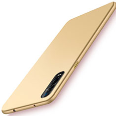 Handyhülle Hülle Kunststoff Schutzhülle Tasche Matt M01 für Oppo Find X2 Pro Gold