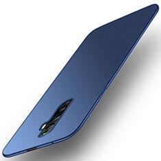 Handyhülle Hülle Kunststoff Schutzhülle Tasche Matt M01 für Oppo Reno2 Z Blau