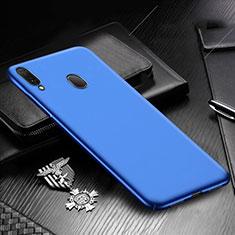 Handyhülle Hülle Kunststoff Schutzhülle Tasche Matt M01 für Samsung Galaxy A30 Blau