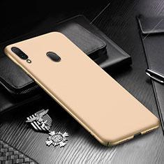 Handyhülle Hülle Kunststoff Schutzhülle Tasche Matt M01 für Samsung Galaxy A30 Gold