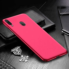 Handyhülle Hülle Kunststoff Schutzhülle Tasche Matt M01 für Samsung Galaxy A30 Rot