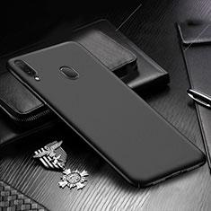 Handyhülle Hülle Kunststoff Schutzhülle Tasche Matt M01 für Samsung Galaxy A30 Schwarz