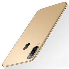 Handyhülle Hülle Kunststoff Schutzhülle Tasche Matt M01 für Samsung Galaxy A60 Gold