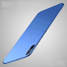 Handyhülle Hülle Kunststoff Schutzhülle Tasche Matt M01 für Samsung Galaxy A70 Blau