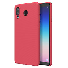 Handyhülle Hülle Kunststoff Schutzhülle Tasche Matt M01 für Samsung Galaxy A9 Star SM-G8850 Rot
