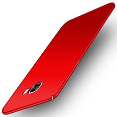 Handyhülle Hülle Kunststoff Schutzhülle Tasche Matt M01 für Samsung Galaxy C7 Pro C7010 Rot