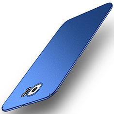 Handyhülle Hülle Kunststoff Schutzhülle Tasche Matt M01 für Samsung Galaxy S6 SM-G920 Blau