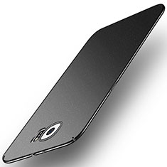Handyhülle Hülle Kunststoff Schutzhülle Tasche Matt M01 für Samsung Galaxy S6 SM-G920 Grau