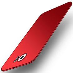 Handyhülle Hülle Kunststoff Schutzhülle Tasche Matt M01 für Samsung Galaxy S6 SM-G920 Rot