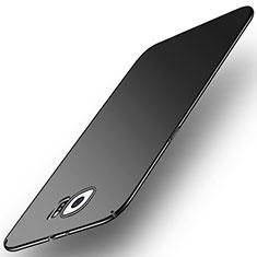 Handyhülle Hülle Kunststoff Schutzhülle Tasche Matt M01 für Samsung Galaxy S6 SM-G920 Schwarz