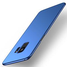 Handyhülle Hülle Kunststoff Schutzhülle Tasche Matt M01 für Samsung Galaxy S9 Blau