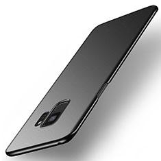 Handyhülle Hülle Kunststoff Schutzhülle Tasche Matt M01 für Samsung Galaxy S9 Schwarz