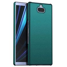 Handyhülle Hülle Kunststoff Schutzhülle Tasche Matt M01 für Sony Xperia 10 Grün