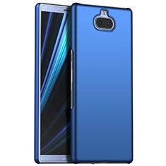 Handyhülle Hülle Kunststoff Schutzhülle Tasche Matt M01 für Sony Xperia 10 Plus Blau