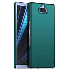 Handyhülle Hülle Kunststoff Schutzhülle Tasche Matt M01 für Sony Xperia 10 Plus Grün